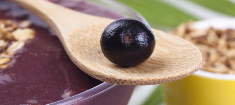 Acai Beeren eignen sich zum Abnehmen